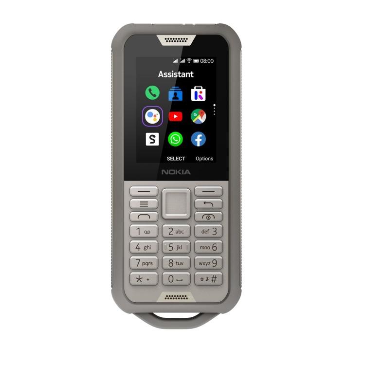 Nokia 800 Tough Dual Sim Pustynny Szary