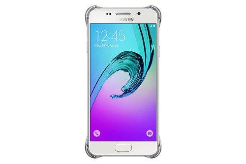 Samsung Etui Clear Cover Srebrne do Galaxy A3 (2016) EF-QA310CSEGWW