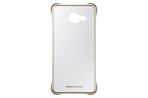 Samsung Etui Clear Cover Złote do Galaxy A3 (2016) EF-QA310CFEGWW