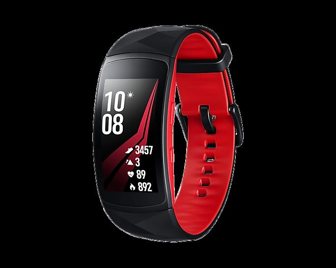 Samsung Gear Fit 2 PRO Czerwony | SM-R365 | roz. S /OUTLET