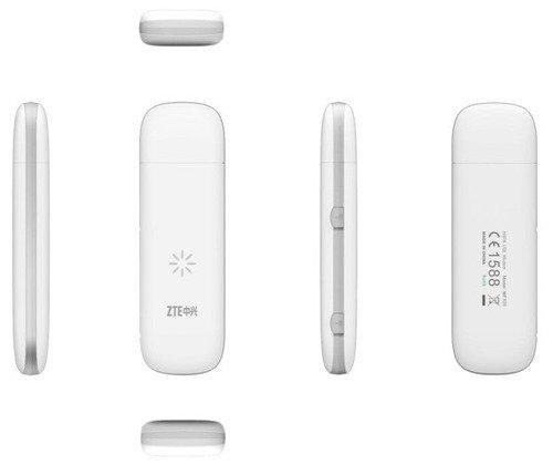 ZTE MF823 Biały Modem USB LTE